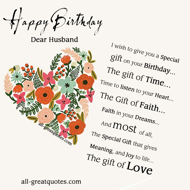 Quotes Birthday With Husband Cake For