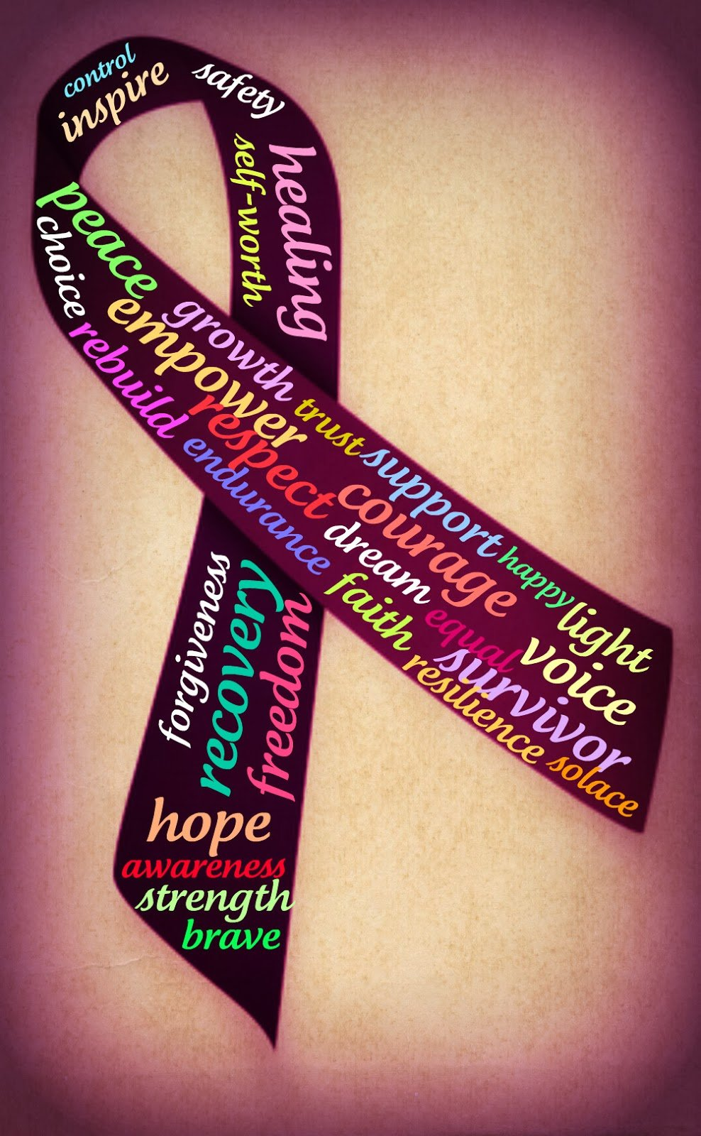 Domestic Violence Awareness Month Quotes Quotesgram