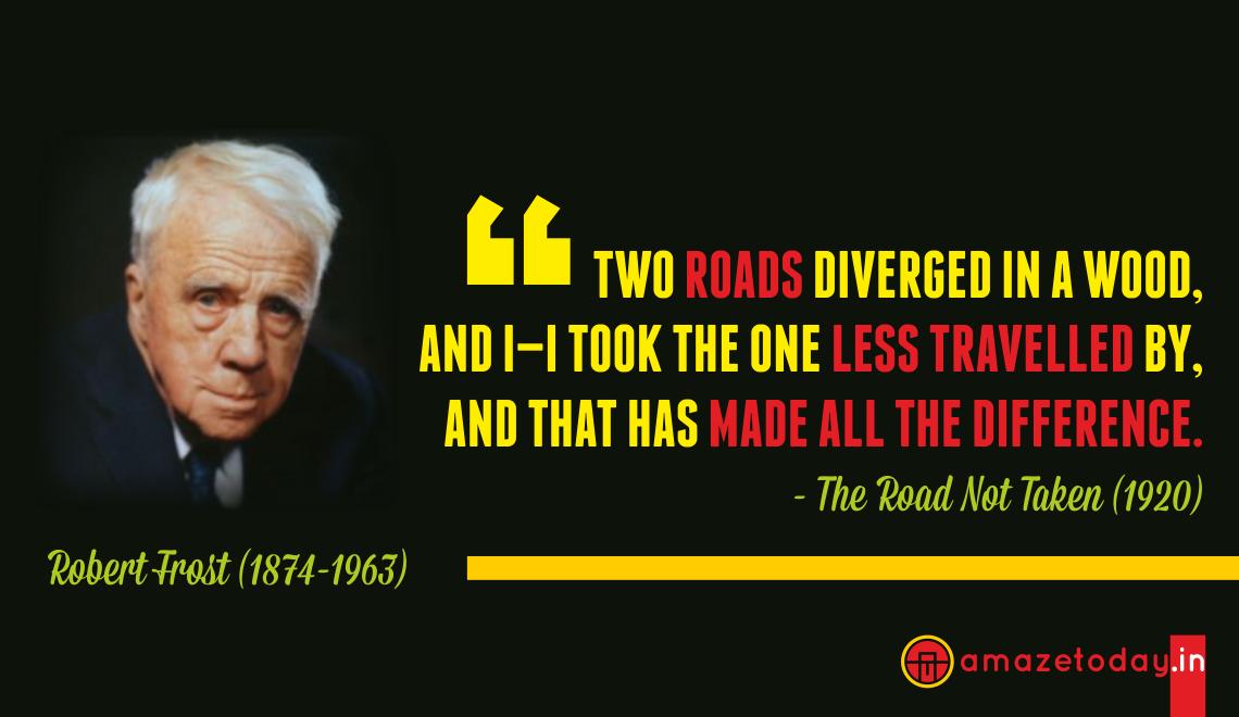 Inspirational Quotes Robert Frost. QuotesGram