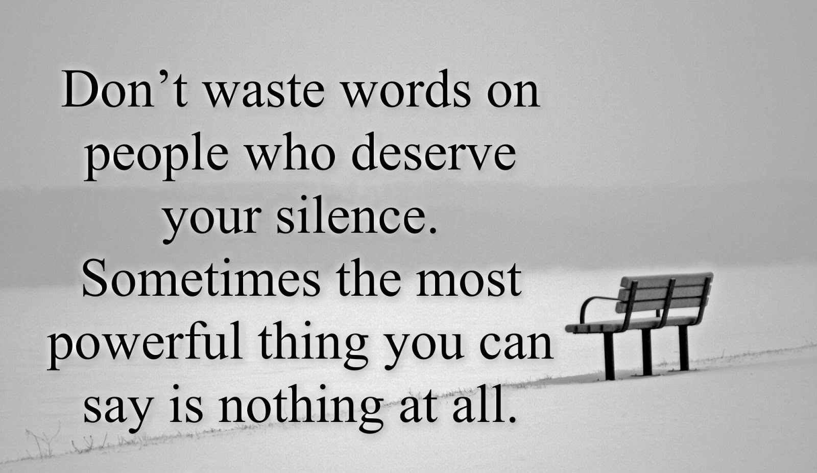 Silence Says It All Quotes. QuotesGram