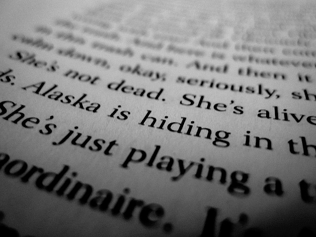 Alaska Quotes Looking For Alaska: Looking For Alaska Quotes With Page Numbers. QuotesGram