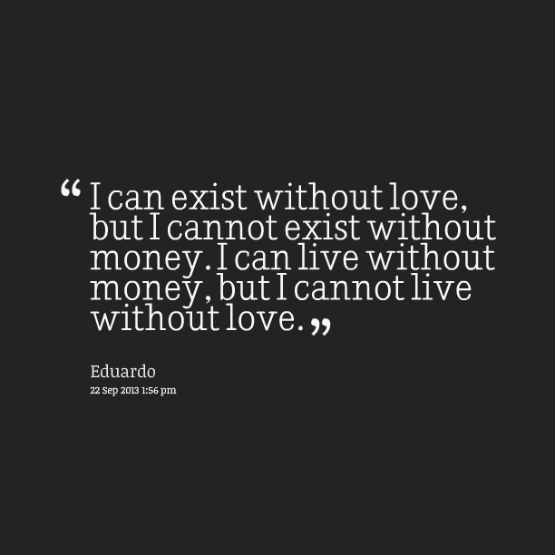 quotes on money and relationship
