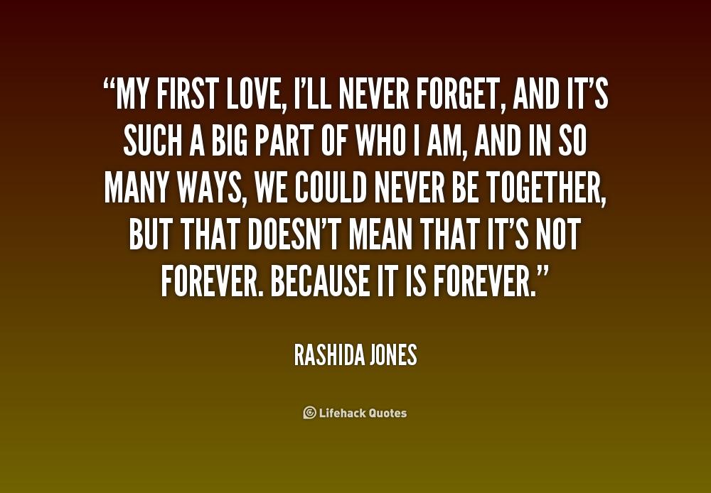 First love Quotes. QuotesGram