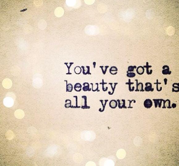 Youre Beautiful Quotes Quotesgram