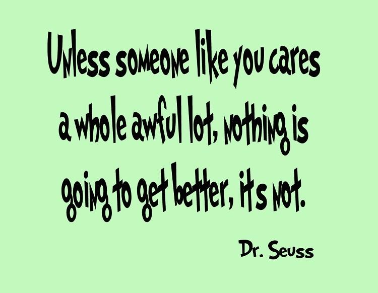 Lorax Dr Seuss Quotes. QuotesGram