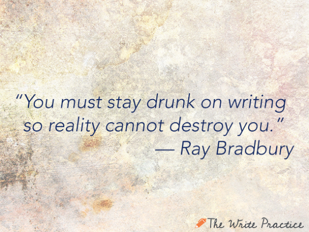 ray bradbury essay on writing Ray bradbury left us some fantastic stories and zen in the art of writing, is one of composition in art, writing an essay composition, writing essays, art.