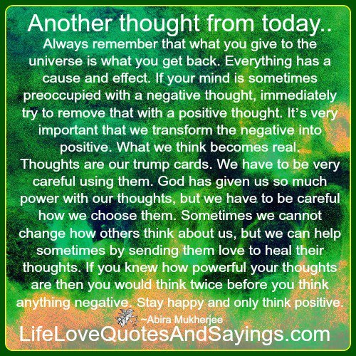 Quotes About Love: Thoughts For Today Quotes. QuotesGram
