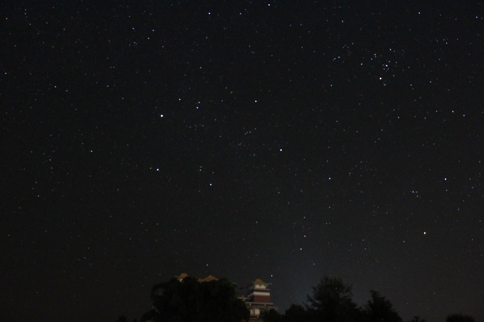Starry Night Sky Quote...