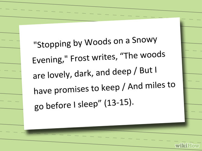 analysis of stopping by a wood Stopping by woods on a snowy evening this essay stopping by woods on a snowy evening and other 63,000+ term papers, college essay examples and free essays are available now on reviewessayscom autor: reviewessays • february 4, 2011 • essay • 2,155 words (9 pages) • 1,841 views.