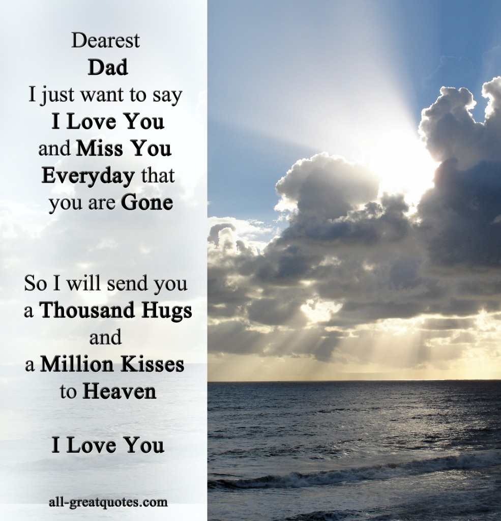 I Want To Cuddle With You Quotes: In Loving Memory Father Quotes. QuotesGram
