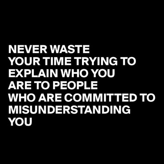 Misunderstanding Friends Quotes: Wasting Time On People Quotes. QuotesGram