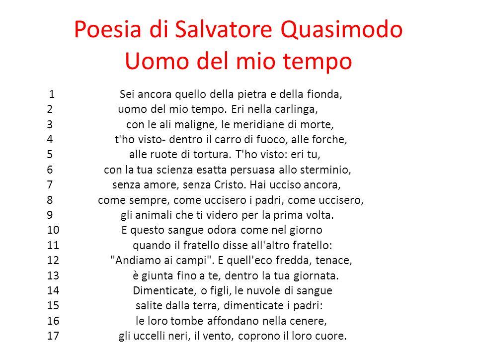 Salvatore quasimodo quotes quotesgram - Poesia specchio di quasimodo spiegazione ...