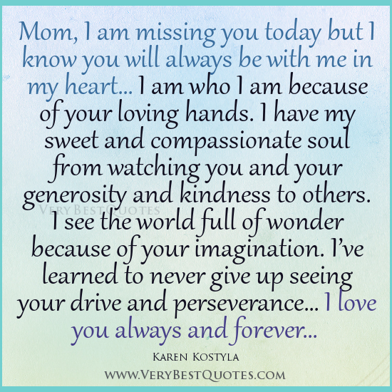 Losing A Mother Quotes Inspirational. QuotesGram