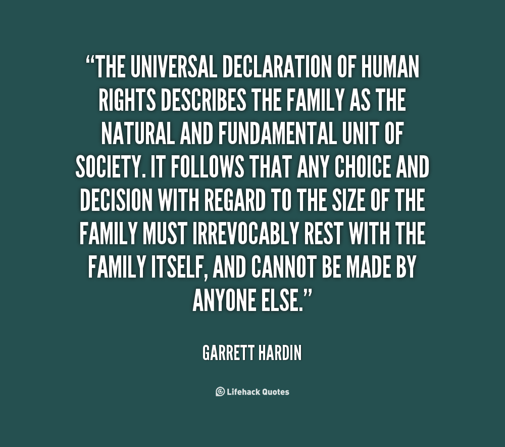 universal human right Article 1: right to equality: article 2 : freedom from discrimination: article 3 : right to life, liberty, personal security.