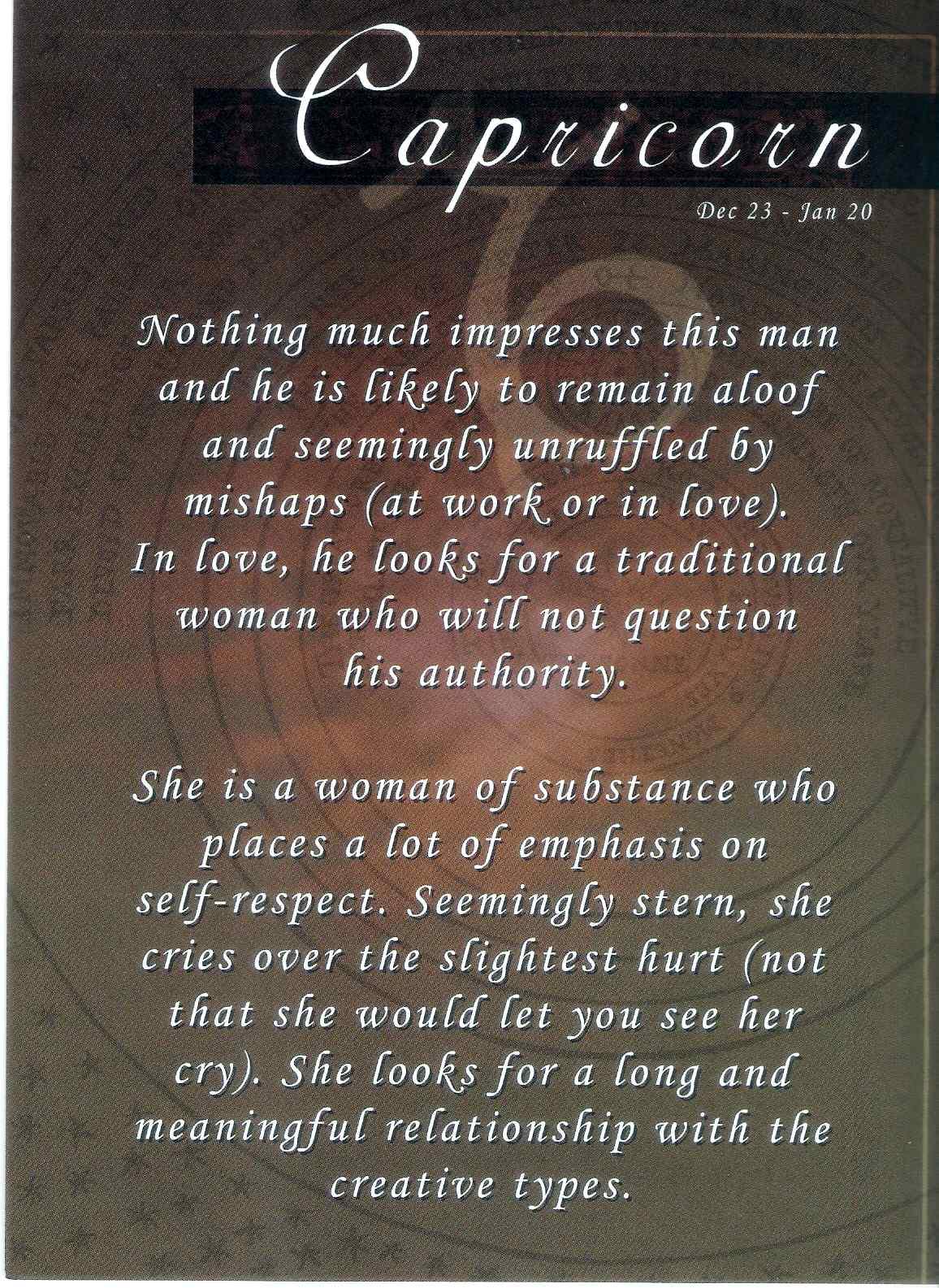 Capricorn Men Quotes. QuotesGram