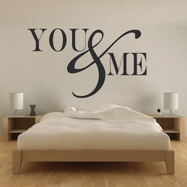 Bedroom Wall Love Quotes