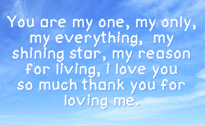 Thanks For Loving Me Quotes Quotesgram