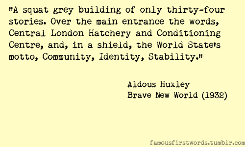 Brave New World Important Quotes. QuotesGram