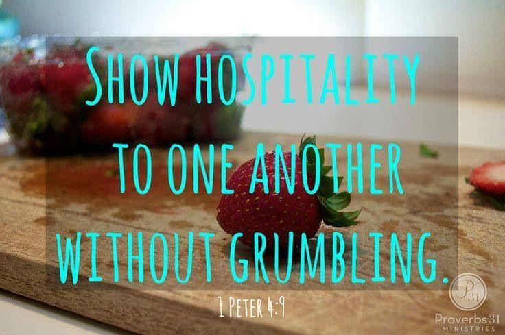 Open Heart! Open Door! Principles of Biblical Hospitality – Part 2 ...