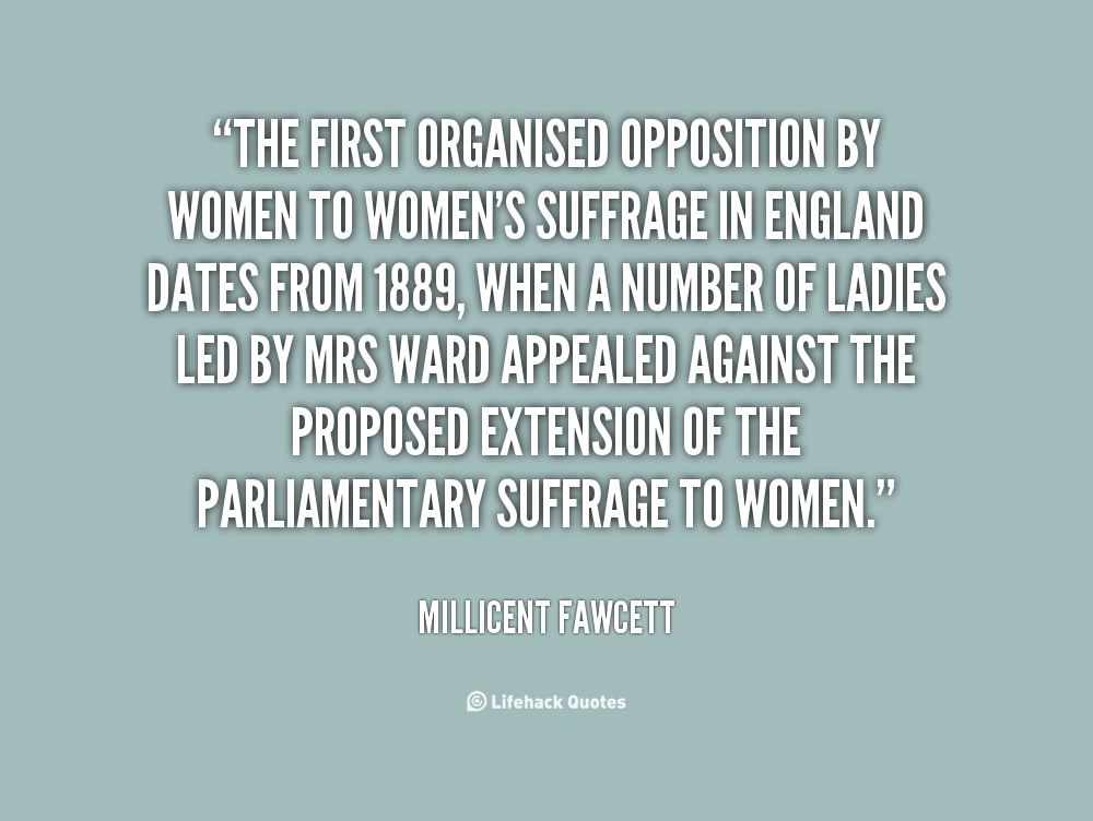 Suffrage Quotes: Women Against Suffrage Quotes. QuotesGram