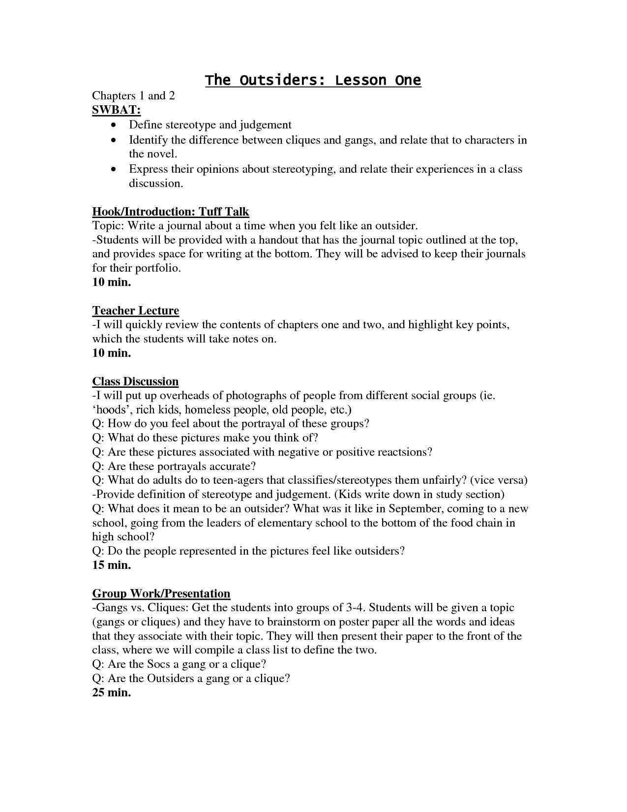 Tv show review essay assignment