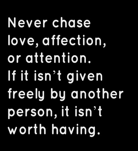 Chasing Love Quotes