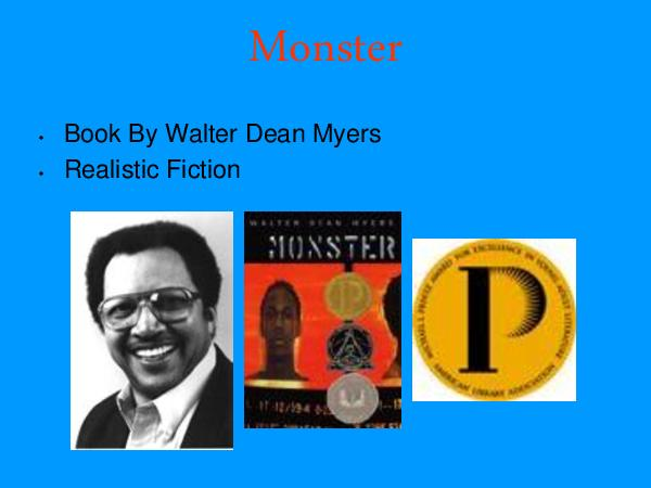 a theatrical interpretation of walter dean myers monster with the use of steve stanislavskis method Monster by walter dean myers short summary a sixteen year old boy named steve harmon finds himself on trial for murder after he is accused as acting as a lookout for the young men who actually commit a robbery at a harlem drugstore and kill the store owner.