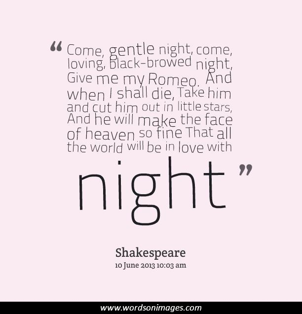 Quotes From Romeo And Juliet: Forbidden Love Romeo And Juliet Quotes. QuotesGram