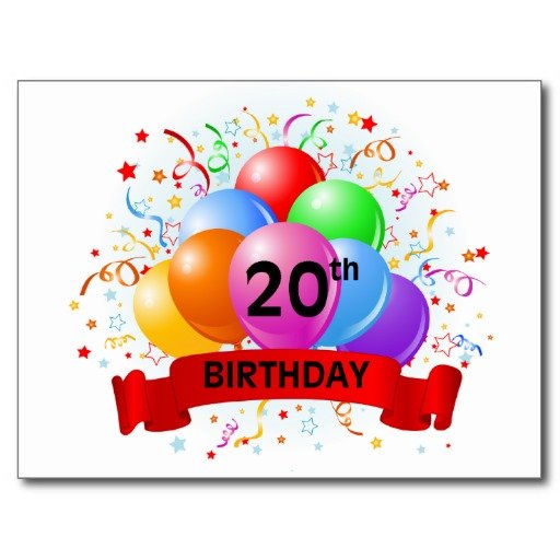 Happy Birthday 20th Quotes: 20th Birthday Quotes. QuotesGram