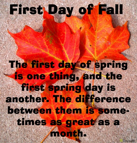 First Day Of Business Quotes: First Day Of Autumn Quotes. QuotesGram