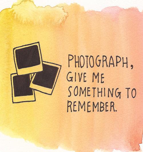 Photographic Memory Quotes: Polaroid Quotes. QuotesGram