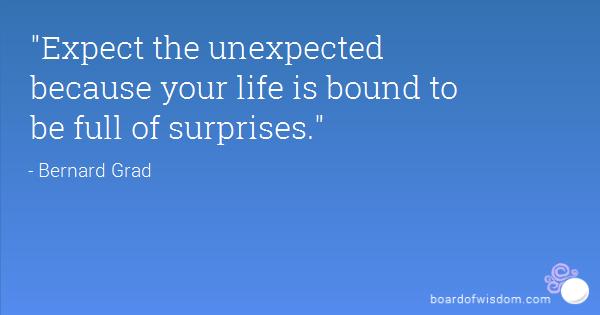 Life Is Full Of Surprises Quotes. QuotesGram