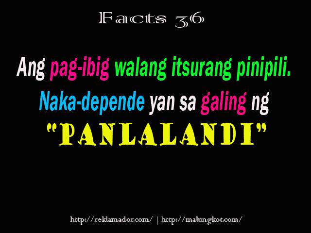 Patama Sa Malandi Quotes. QuotesGram