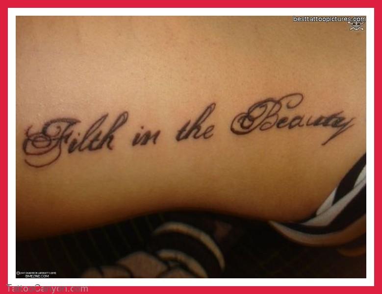 4 word quotes tattoo ideas quotesgram