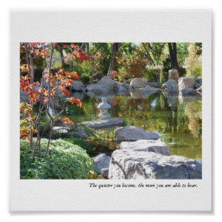Quotes japanese garden quotesgram for Garden pond quotes