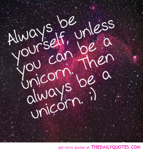 Famous Unicorn Quotes Quotesgram