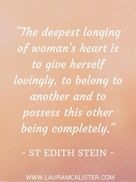 St Edith Stein Quotes Quotesgram