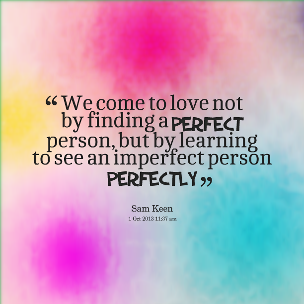 Love Finds You Quote: Finding The Perfect Person Quotes. QuotesGram