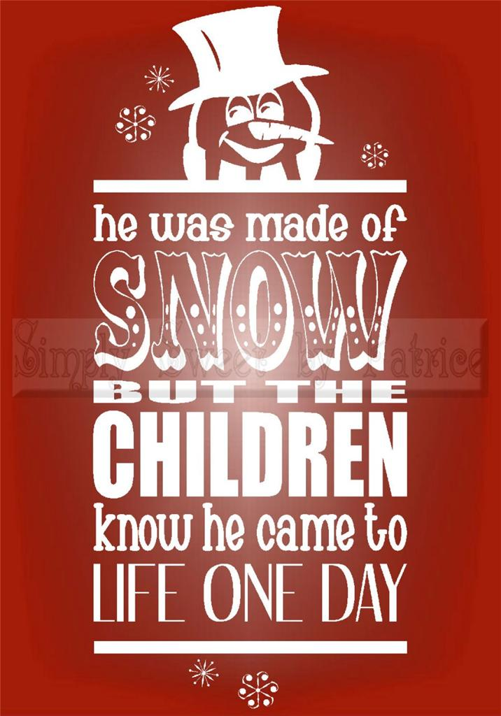 Quotes And Sayings: Frosty The Snowman Quotes. QuotesGram