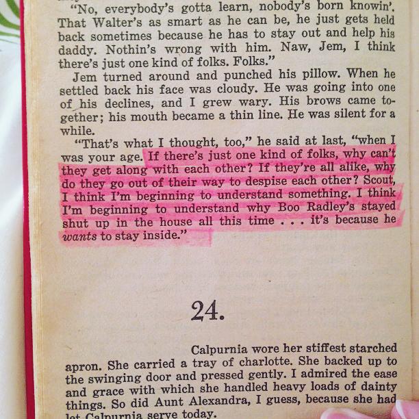 To Kill A Mockingbird Racism Quotes. QuotesGram