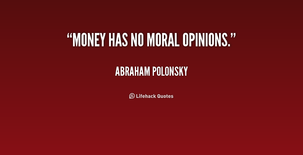 article on need of moral values in our life Why we need values and morals it is all of us face temptations frequently to be dishonest and almost all of us could improve our moral our philosophy of life.