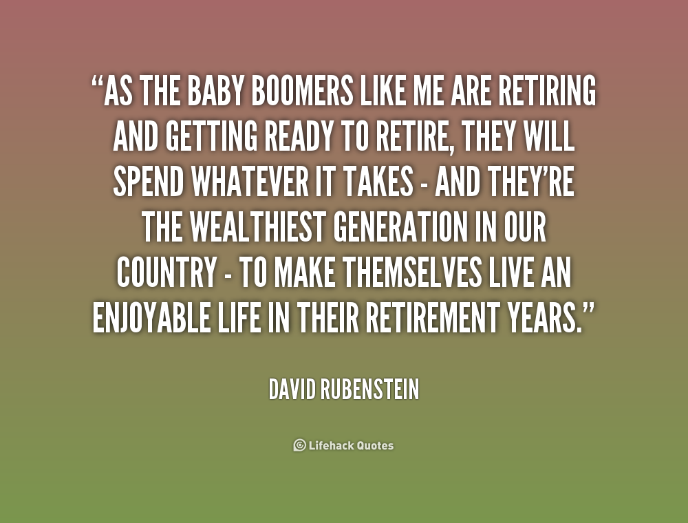 baby boomers relationship to family and friends
