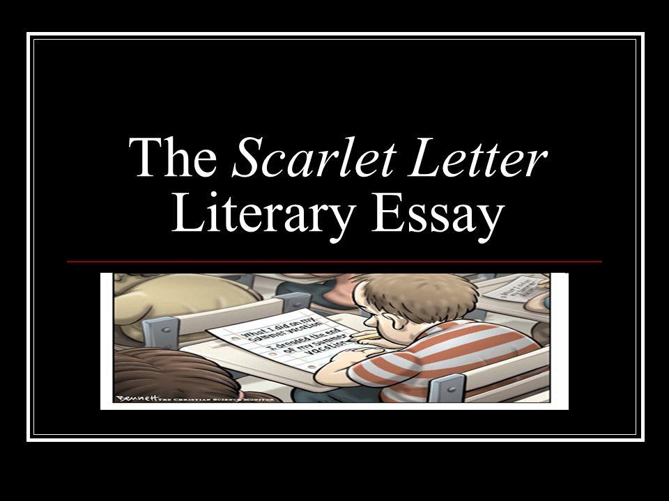 Scarlet letter evil essay