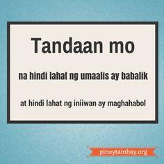 Filipino Quotes Translated Quotesgram