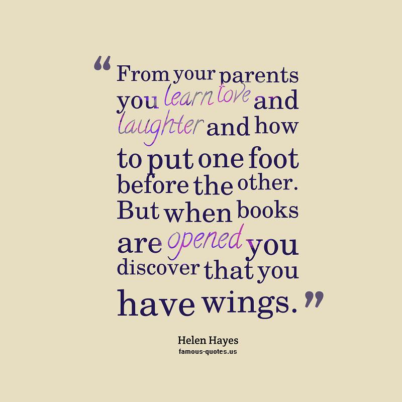 Parents Love Quotes. QuotesGram