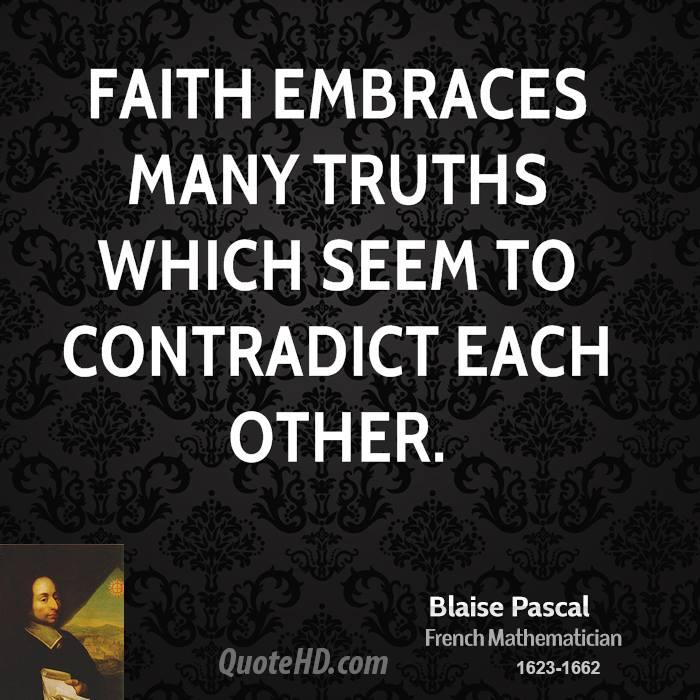 blaise pascal quotes god - photo #16