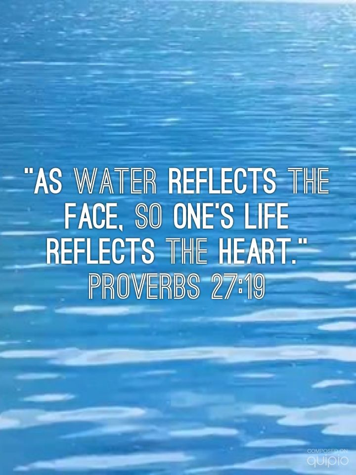 Quotes About Reflections In Water Quotesgram