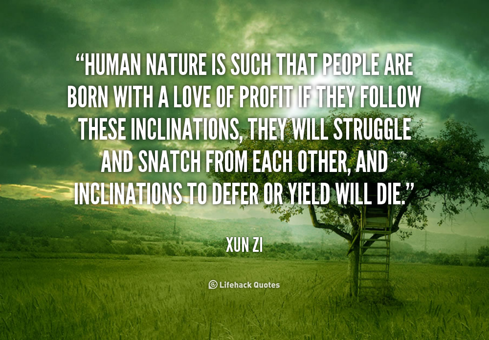 Quotes About Bad Human Nature