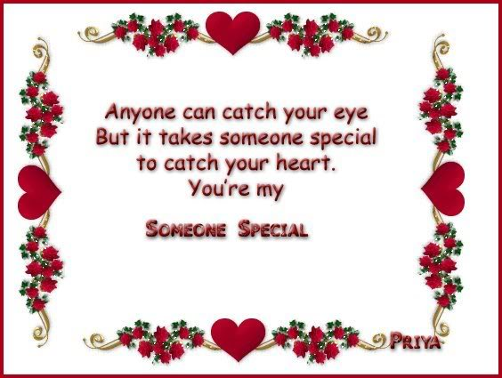 Someone Special Quotes And Sayings Quotesgram: Sweet Quotes For Someone Special. QuotesGram
