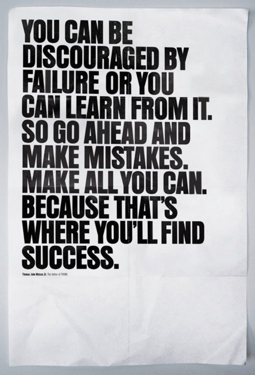 learning from failure quotes  quotesgram